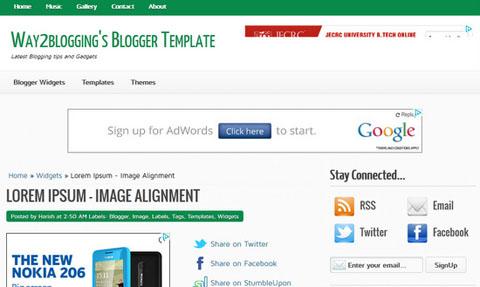 5 Best Premium Design Blogger Templates